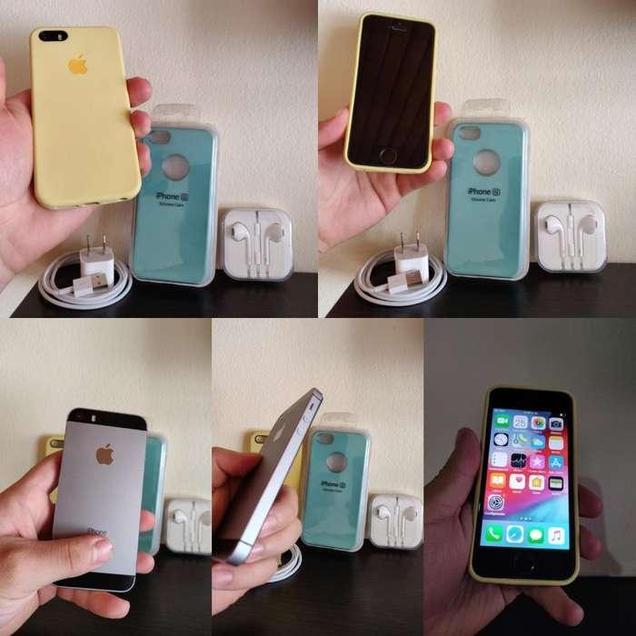 iPhone 5s de 16gb Como Nuevo