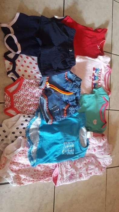 Lotecito de <strong>ropa</strong> de Niña de 3 a 6 Meses