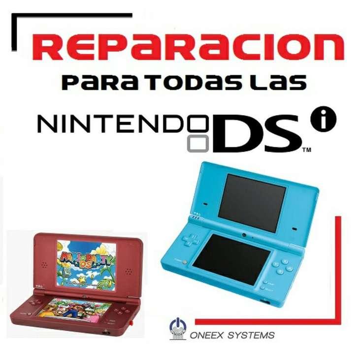 Reparacion de Nintendo Dsi , Ds , Dsixl