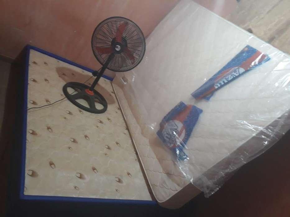 Vendo Somier Y <strong>ventilador</strong>