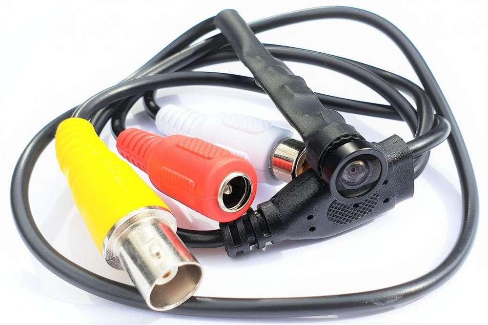 209G Camara CCTV DVR Pinhole Espia <strong>digital</strong> Audio Gran Angular 160º 1,3Mpx 1080p