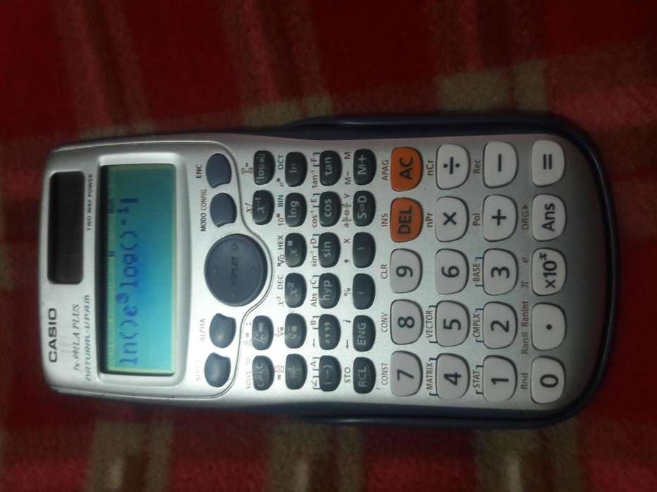 <strong>calculadora</strong> casio fx