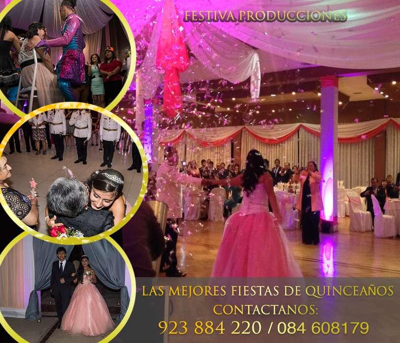 Organización de eventos, 15 años, matrimonios, eventos corporativos