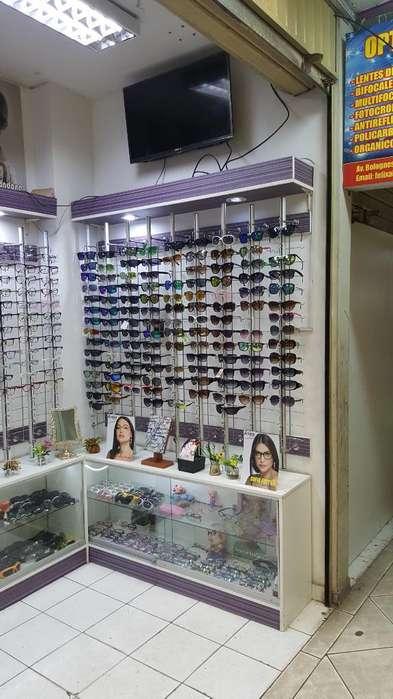 Se Traspasa Optica en Galería Concurrida