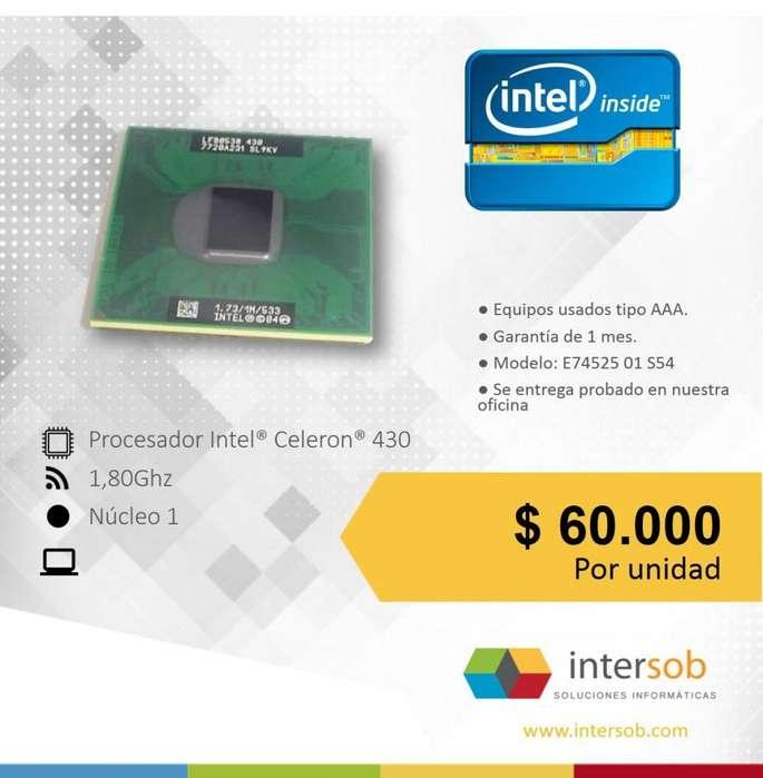 Procesadores Intel Pentium, Celeron Portatil