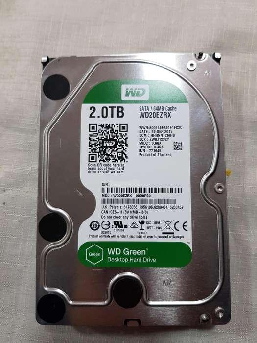 HDD WD Green 2 teras