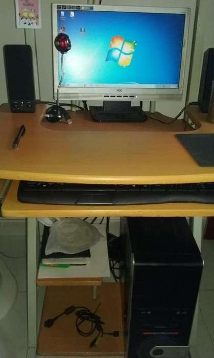 Computador Mesa E Impresora