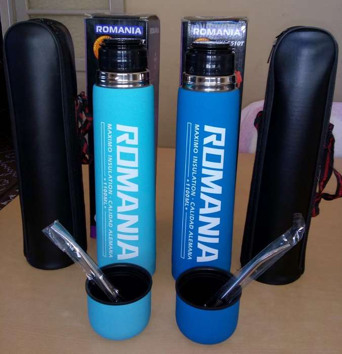 Termo con Funda Y <strong>bombilla</strong>