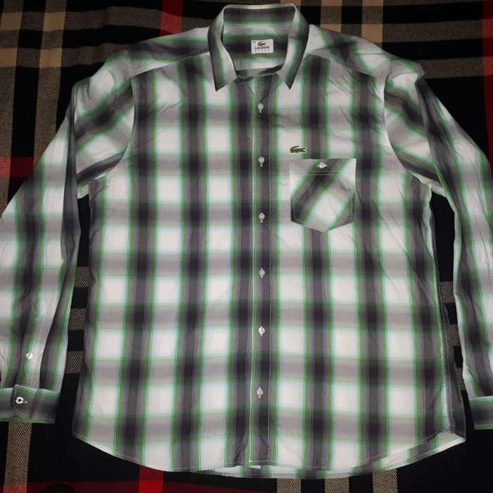 <strong>camisa</strong> Lacoste Talle 44. Palermo