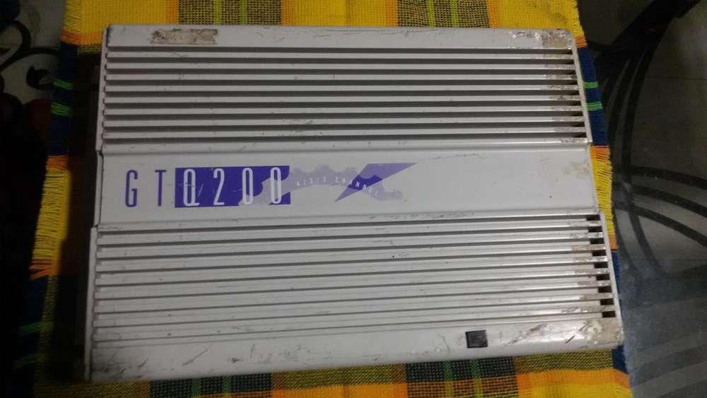 amplificador o planta para carro