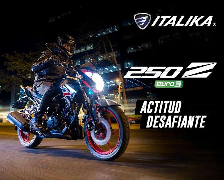 ACTITUD DESAFIANTE : Moto Italika 250 Z