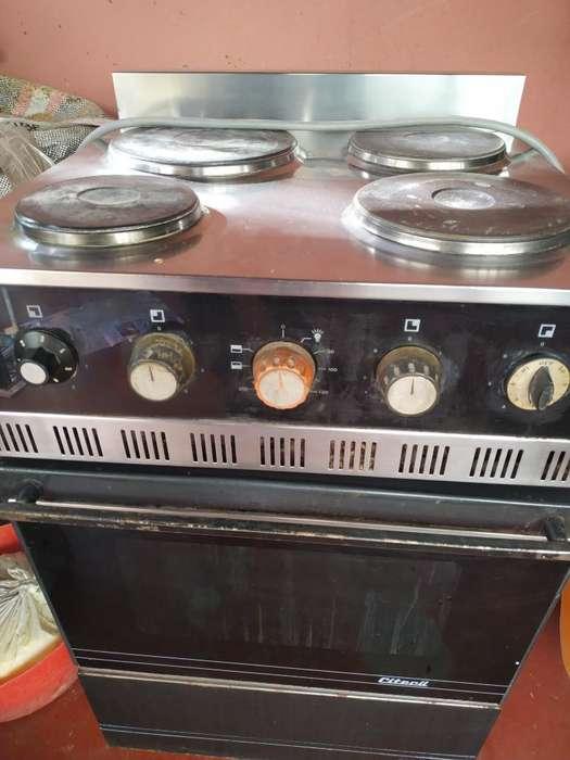 Cocina Eléctrica Citecil C/ Horno