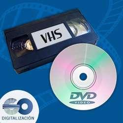 Pase Sus Videos Vhs a Dvd