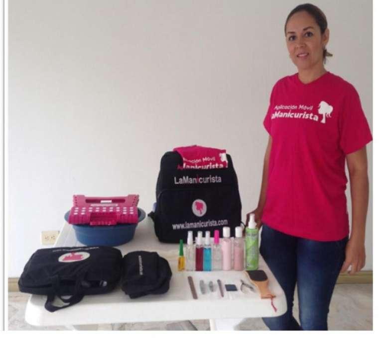 Se busca profesional de belleza aliada para trabajo a domicilio en Medellín.