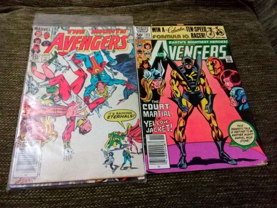 Marvel Avengers Comics 1980s