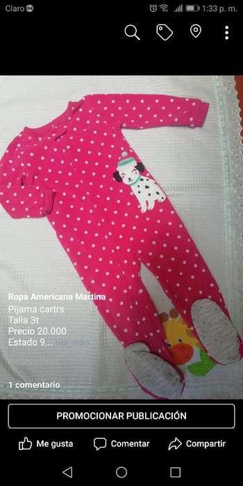 Pijamas Cartrs 3t