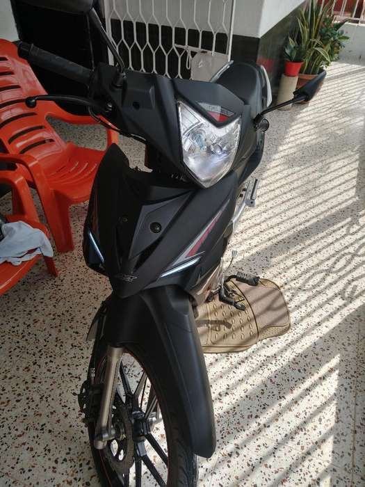 Moto Akt Flex Evolution Negro Mate