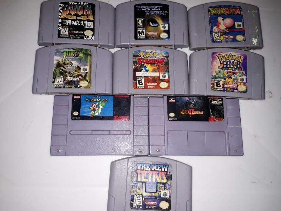 Juegos Nintendo 64 Y Super Nintendo