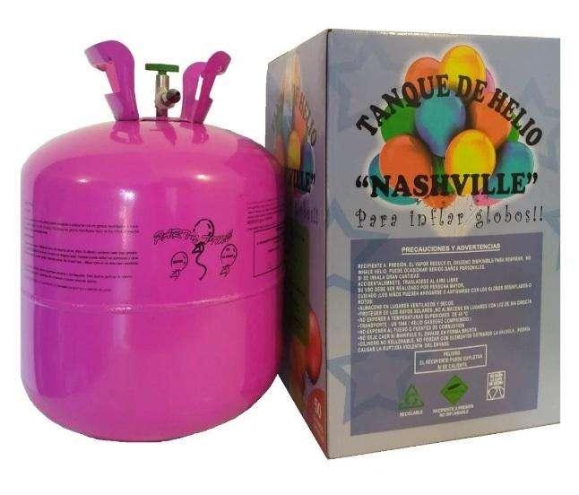 helio para globos garrafa descartable de cotillón en cordoba