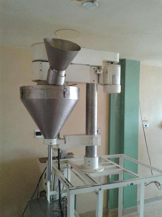 Maquina Dosificadora de Polvos en Acero