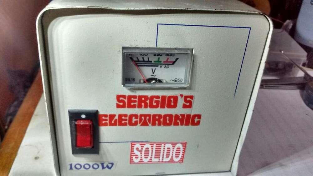 Estabilizador de Voltaje 1000w 220v