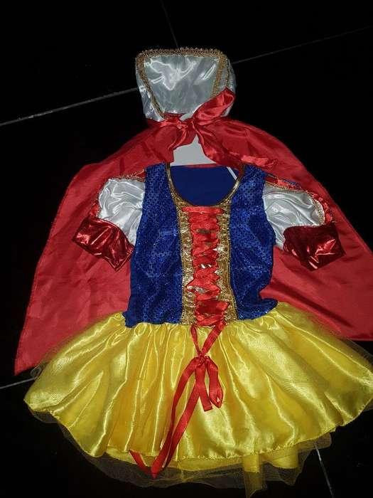 Se Vende Disfraz de Blanca Nieves