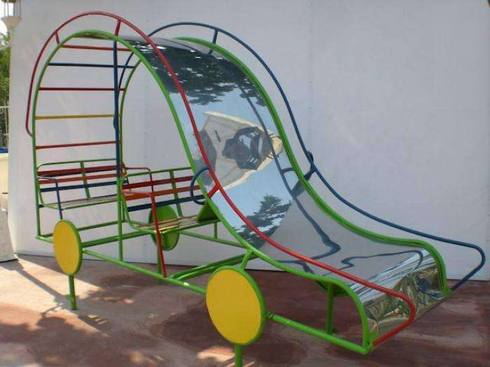 PARQUES INFANTILES BUGGY RESBALADERO