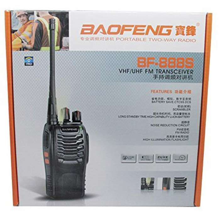 Radio de Comunicacion Baofeng Bf888S x Par