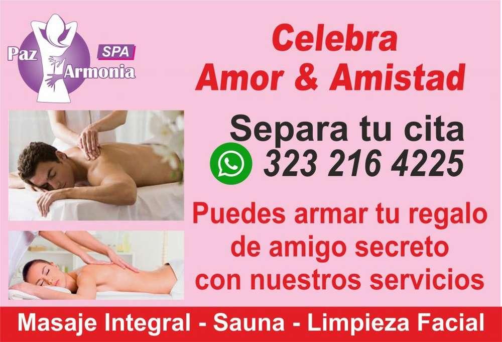 Masaje integral - sauna - limpieza facial
