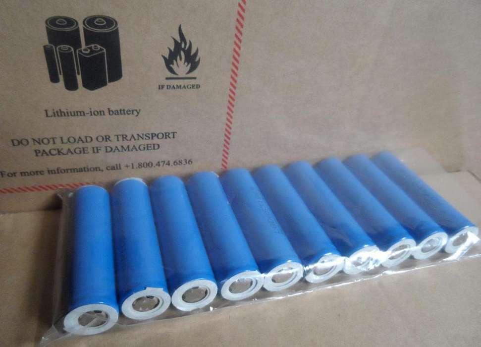 Bateria Pilas Litio ion 18650 2200mah Lg nuevas,originales
