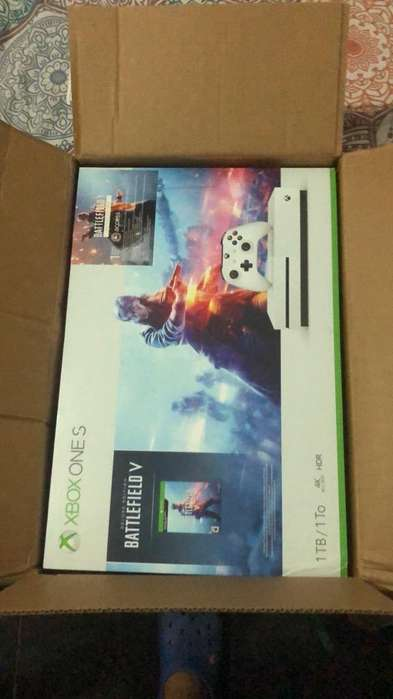 Xbox One S 1Tb Bundle Battlefield V