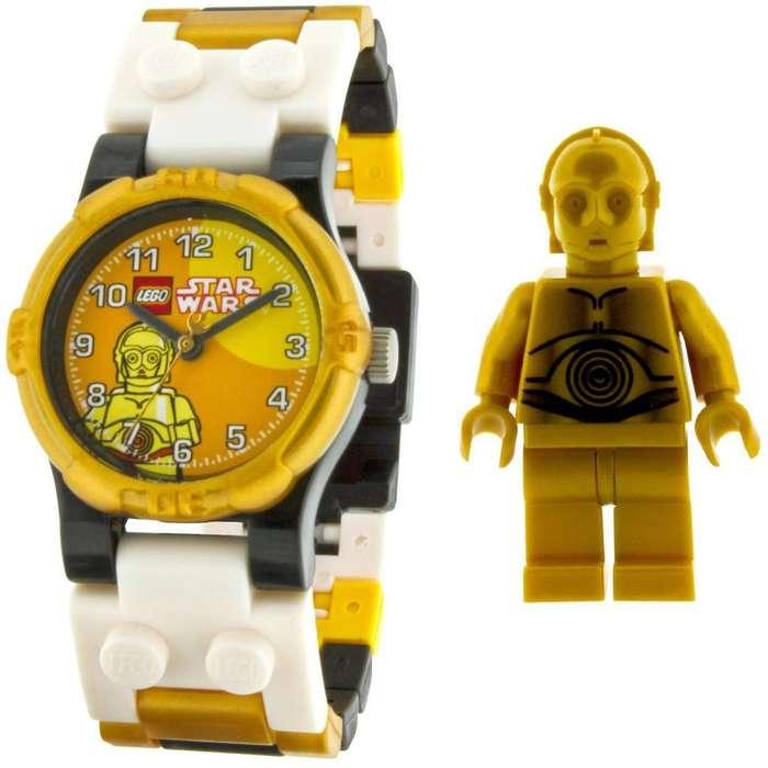 Reloj Lego Star Wars C-3po