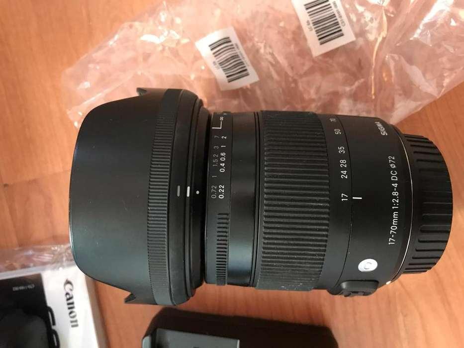 Lente Sigma 17-70mm F2,8-4 Dc Macro - <strong>canon</strong>