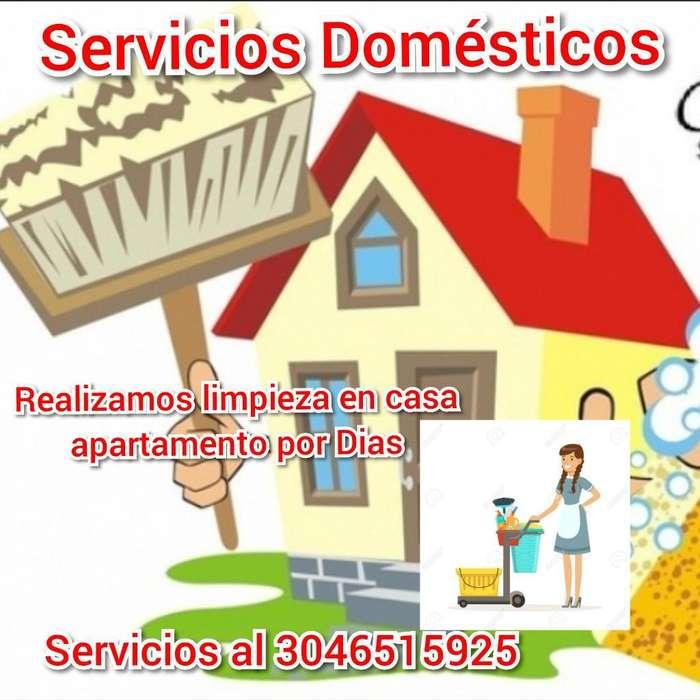 Servicios Domésticos Limpieza