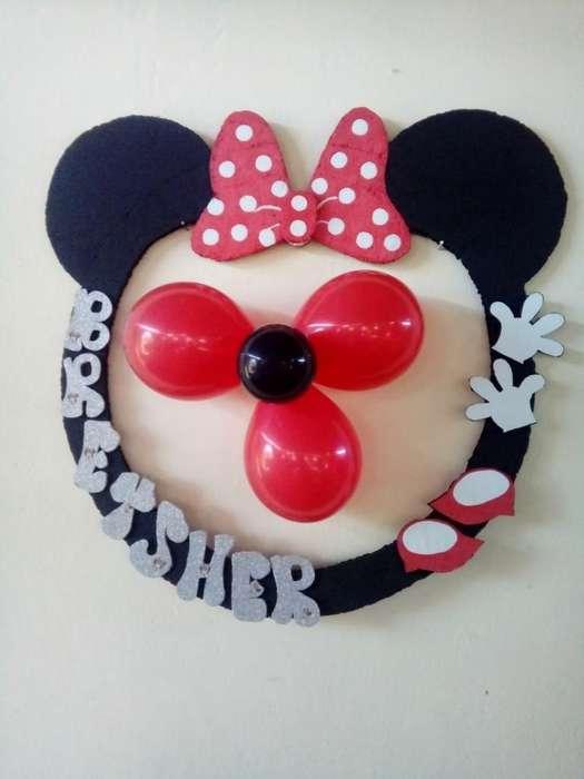 Decoracion Minie Mouse