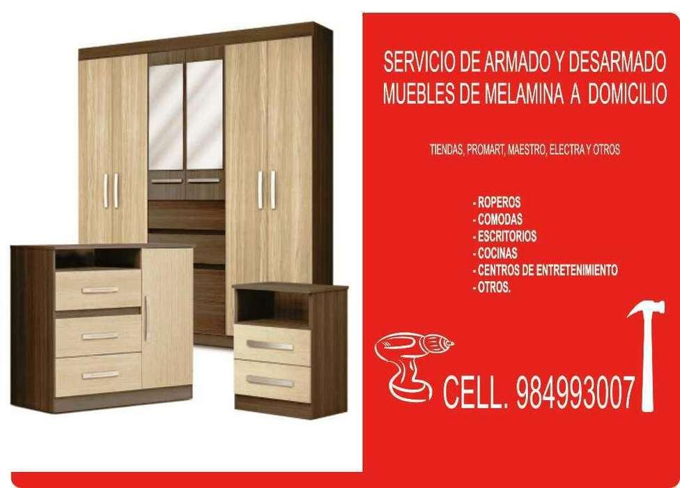 Armado de Muebles de Melamina Cusco