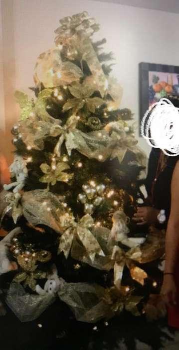 Arbol de Navidad 220cm con Adornos
