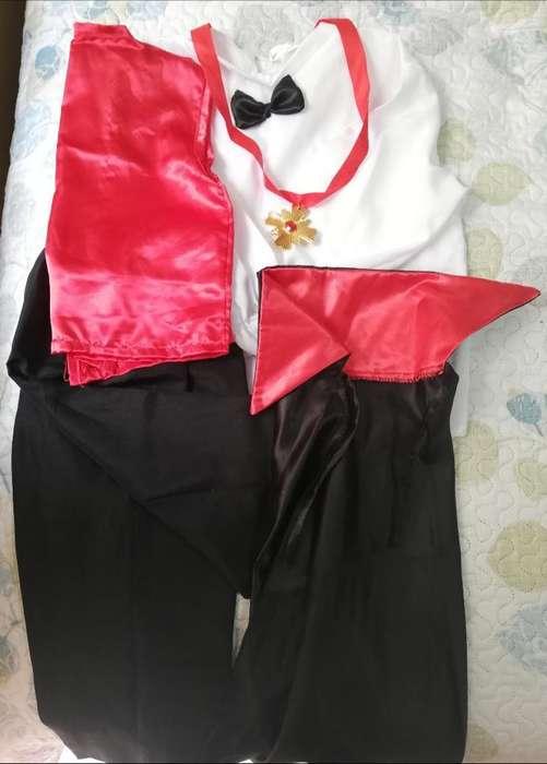 Disfraz Niño Talla 6