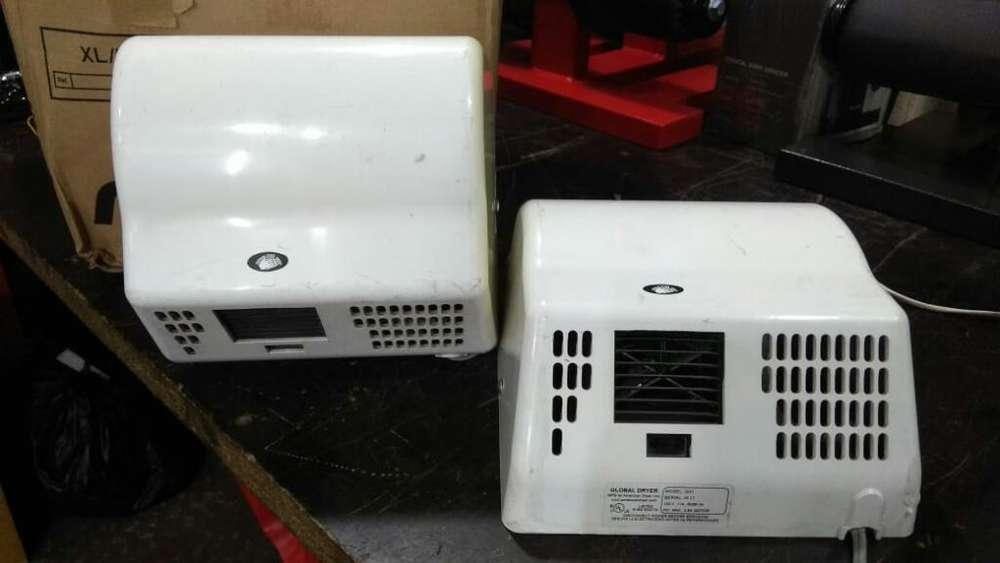 2 Secadores de Manos Global Dryer Import