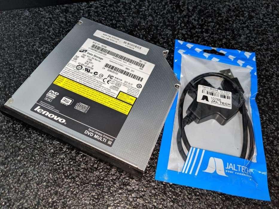 Unidad Dvd Externa con Cable