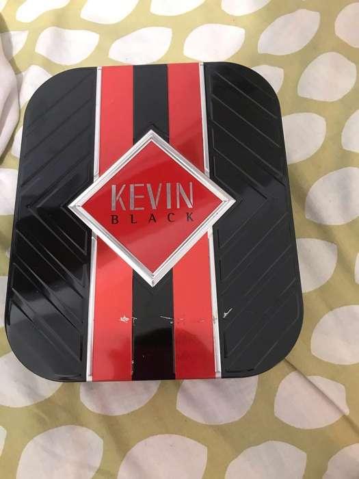 Perfume Y Desodorante Kevin Black Nuevo