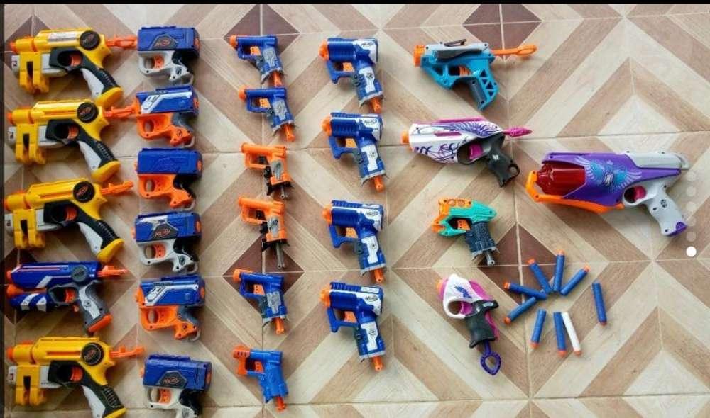 Liquidacion Pistolas Nerf