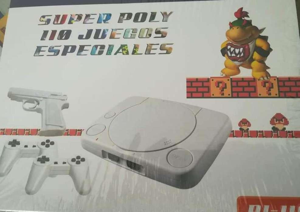 Poly Nintendo 110 Juegos Diferentes