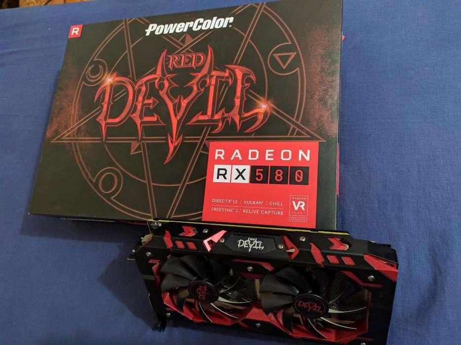 Tarjeta Gráfica Rx 580 8gb Red Devil
