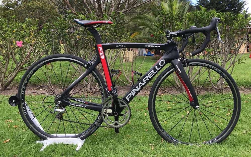 Bicleta Ruta Pinarello 100% Cabono