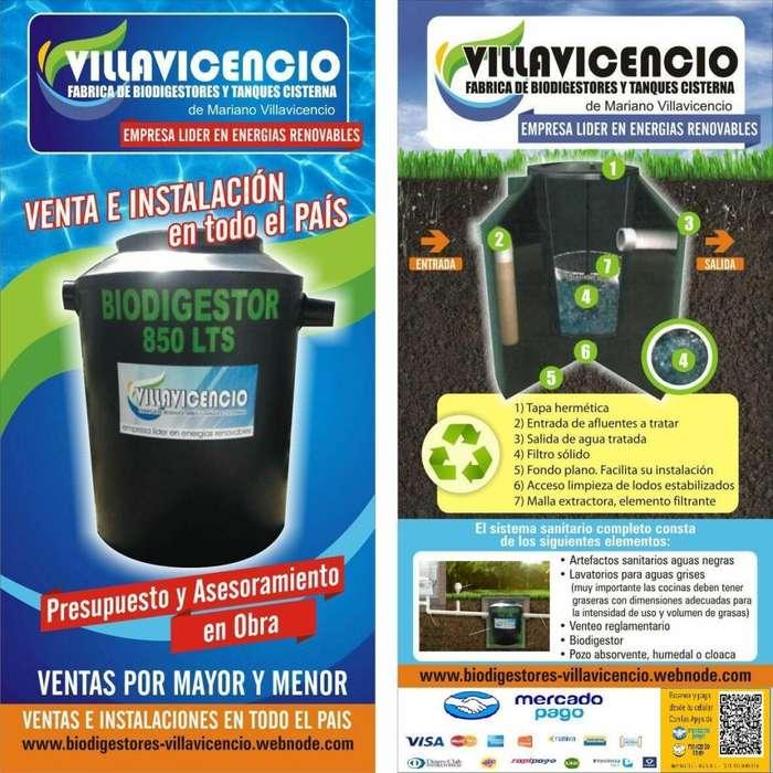 fabrica de biodigestores y tanques villavicencio