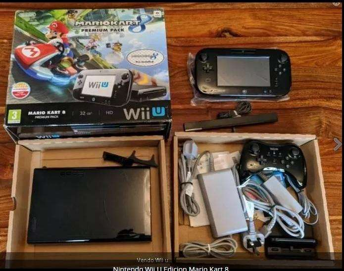 Nintendo Wii U Edicion Mario Kart 8