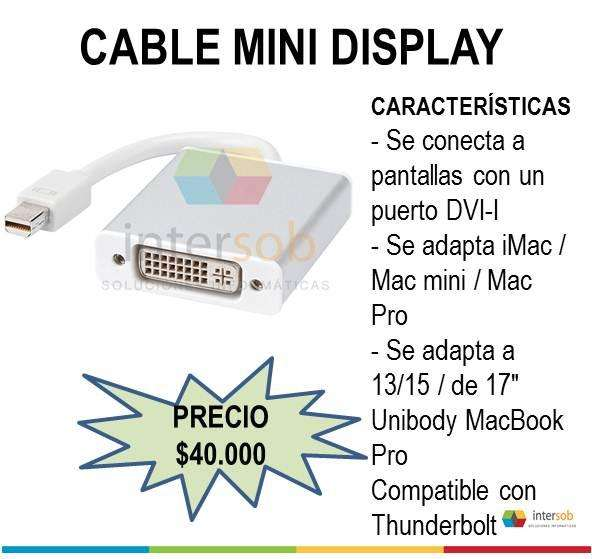 Variedad en Cables