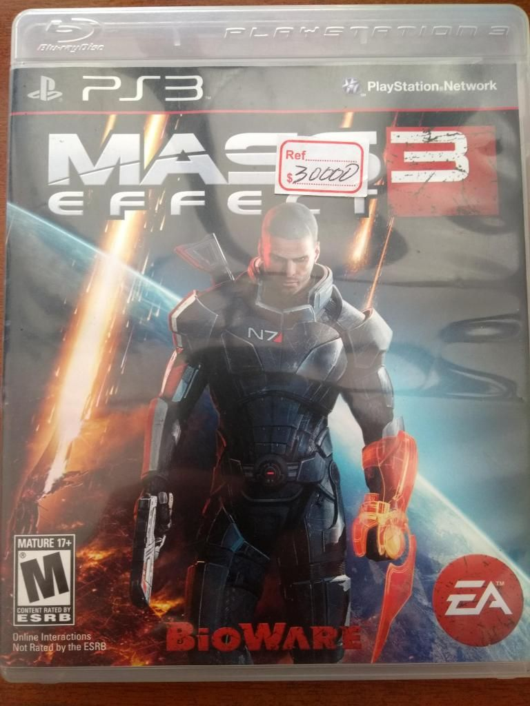 Juego Mass Effect 3 PS3 Original