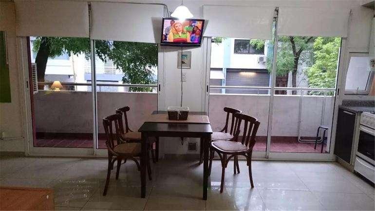 Alquiler Temporario Monoambiente con Balcón, Aguero 900, 4. Barrio Norte
